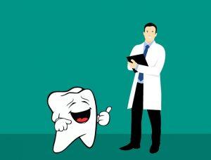 animovany zubok s doktorom